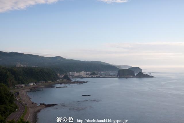 プユニ岬からの景色 6月下旬