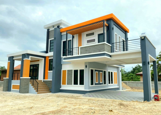 19 Ide Inspiratif Rumah 2 Lantai Dengan Atap Datar Denah Ruang Minimalis