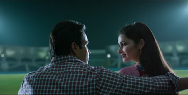 Prachi Desai and Emraan Hashmi from the movie AZHAR.