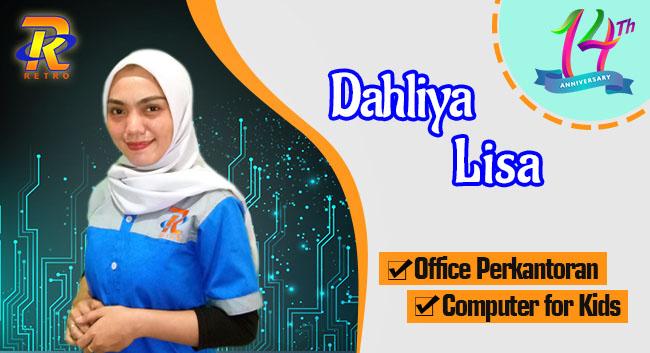 Instruktur Office Perkantoran dan Komputer untuk Anak - Dahliya Lisa - Retro Komputer