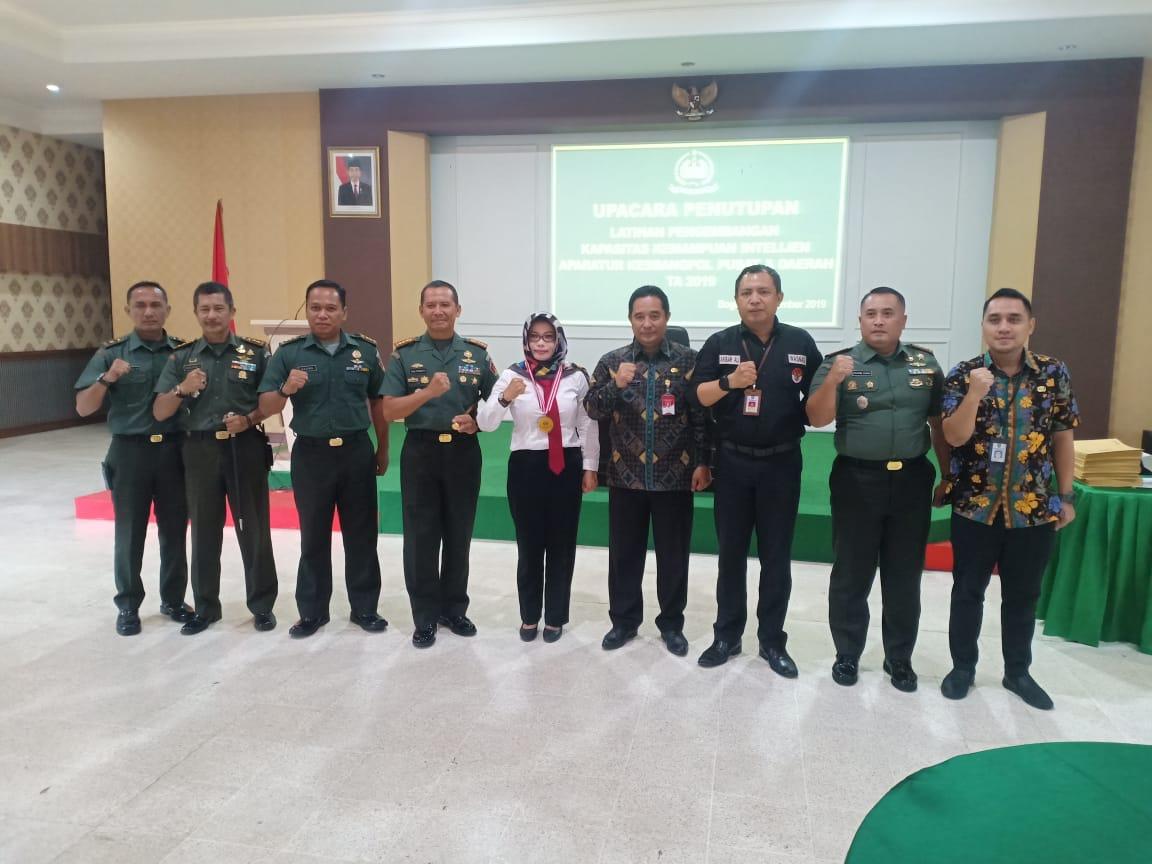 Plt. Dirjen Politik dan PUM Menutup Giat Pengembangan Kapasitas Kemampuan Intelijen Bagi Aparat Pusat dan Daerah