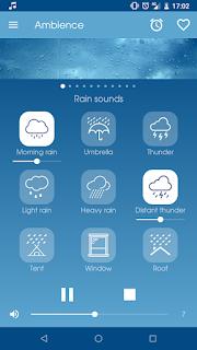تحميل تطبيق Ambience Nature sounds relax and sleep 1.20.1.apk-  تطبيق اصوات الاسترخاء و النوم