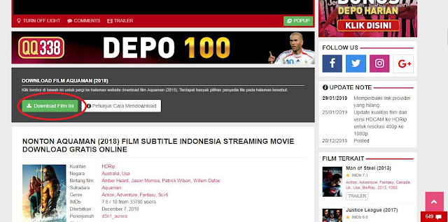 Cara Download Film Terbaru Dan Gratis Lk21 Di Laptop dan Android 2019