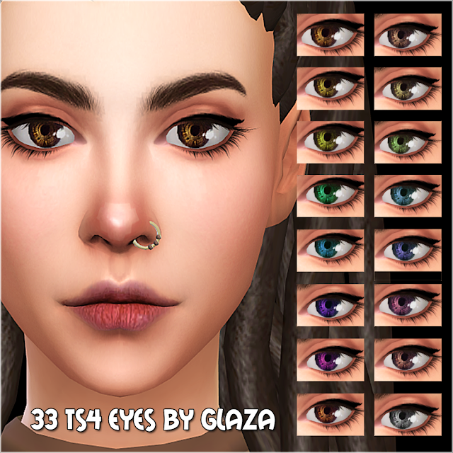 33 ts4 eyes by glaza