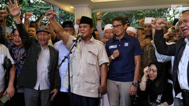 600 Ribu Data C1 Sudah Dihitung, Prabowo-Sandi Tetap di Angka 62 Persen