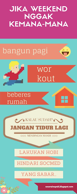tips, infografis, weekend,