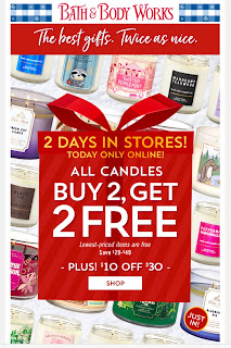 Bath & Body Works | Today's Email - December 15, 2019