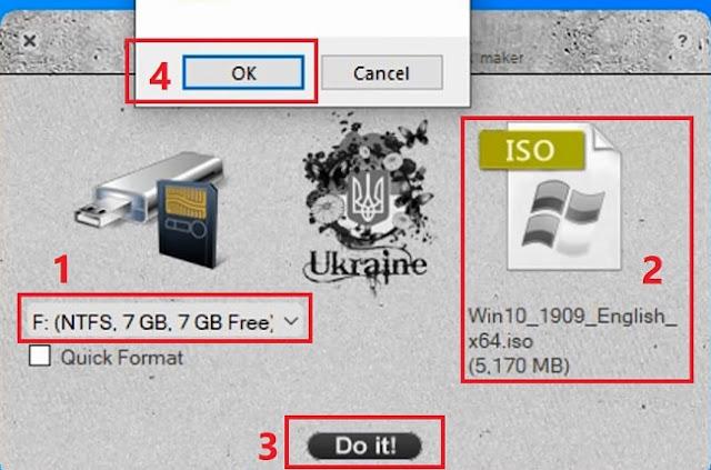 شرح برنامج WiNToBootic حرق ويندوز 10 و 8.1 و 7 على فلاشة usb