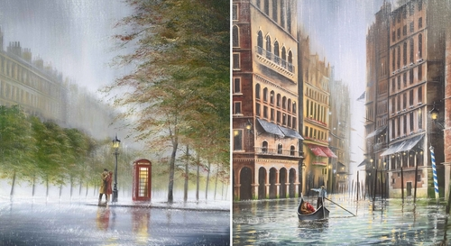 00-Jeff-Rowland-Paintings-of-Romantic-Scenes-in-the-Rain-www-designstack-co
