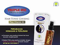 TRIPLE SIX Hair Tonic Ginseng - Produk Perawatan Rambut Nasa