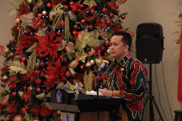 Pjs Gubernur Fatoni Sebut Ibadah Natal Boleh di Gereja, Kolom/Kelompok Asal Patuhi Prokes Covid-19