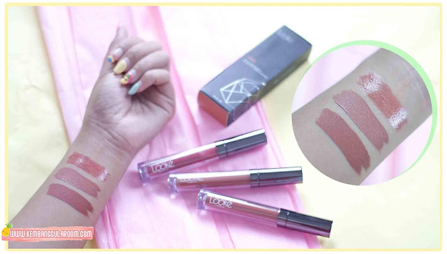 looke cosmetics holy lip series