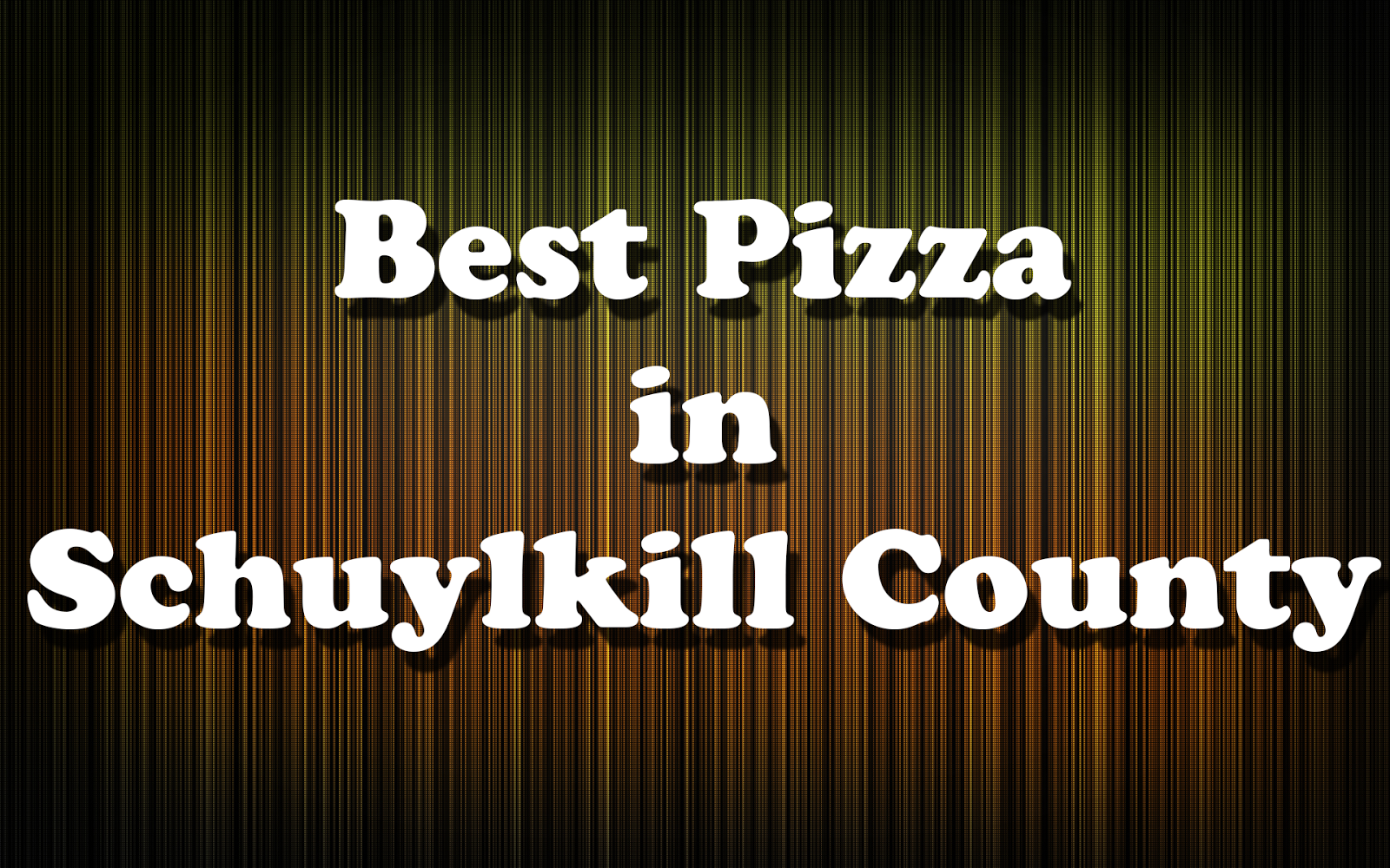 Restaurants In Schuylkill County Pa