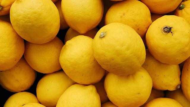 Limão Fruta Cítrica Amarela