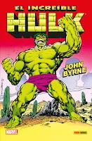 100% Marvel HC. El Increíble Hulk de John Byrne