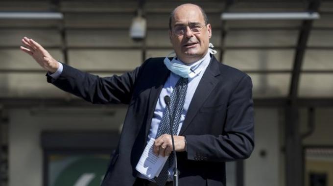 """Zingaretti: """"Pd e M5S provino ad allearsi per le regionali"""""""