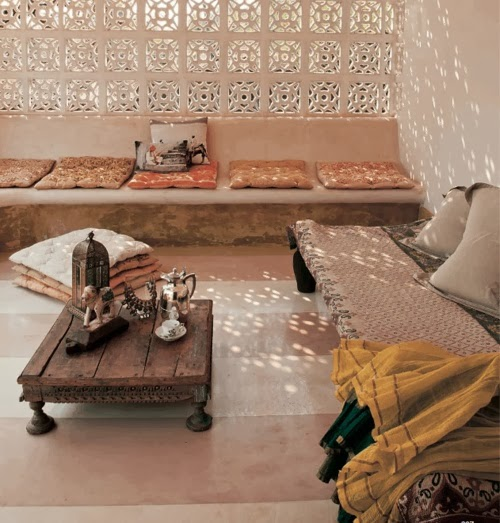 Living Room Designs Indian Homes: Moon To Moon: Moroccan Inspired Seating