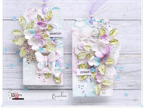 Watercolors Tags & Video