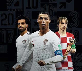 CR7 e Modric têm disputa acirrada por prêmio de melhor do mundo em 2018