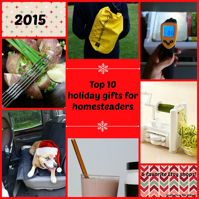 Holiday gift guide for homesteaders