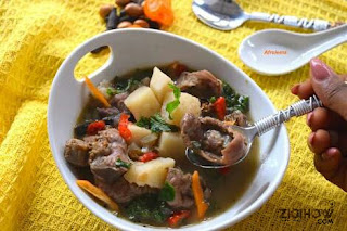 HOW TO PREPARE GIZZARD STEW 1
