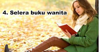 Selera buku wanita