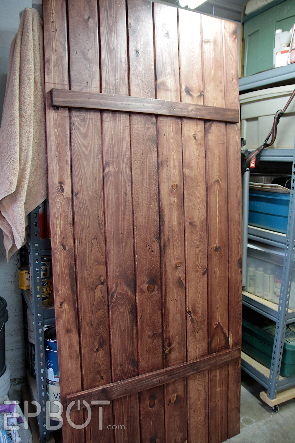 EPBOT: Make Your Own Sliding Barn Door   For Cheap!
