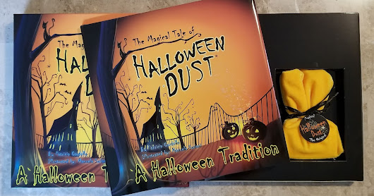 A Halloween Tradition The Magical Tale of HALLOWEEN DUST BOOK