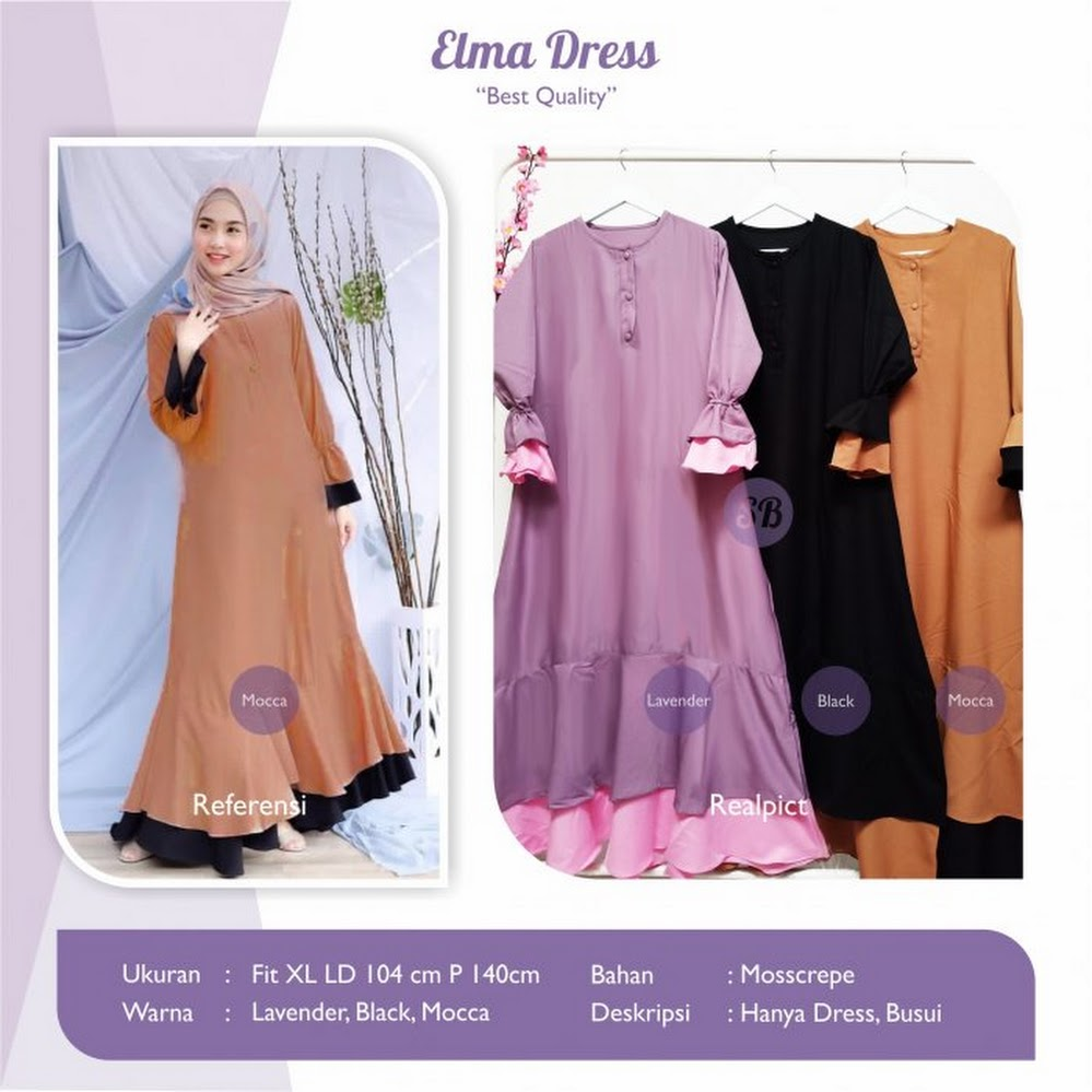 jual elma dress