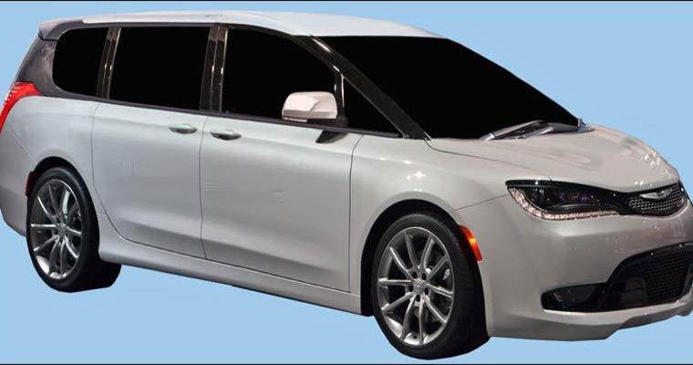 2017 Chrysler Town And Country Rear Doors Will Be Totally Hands Free