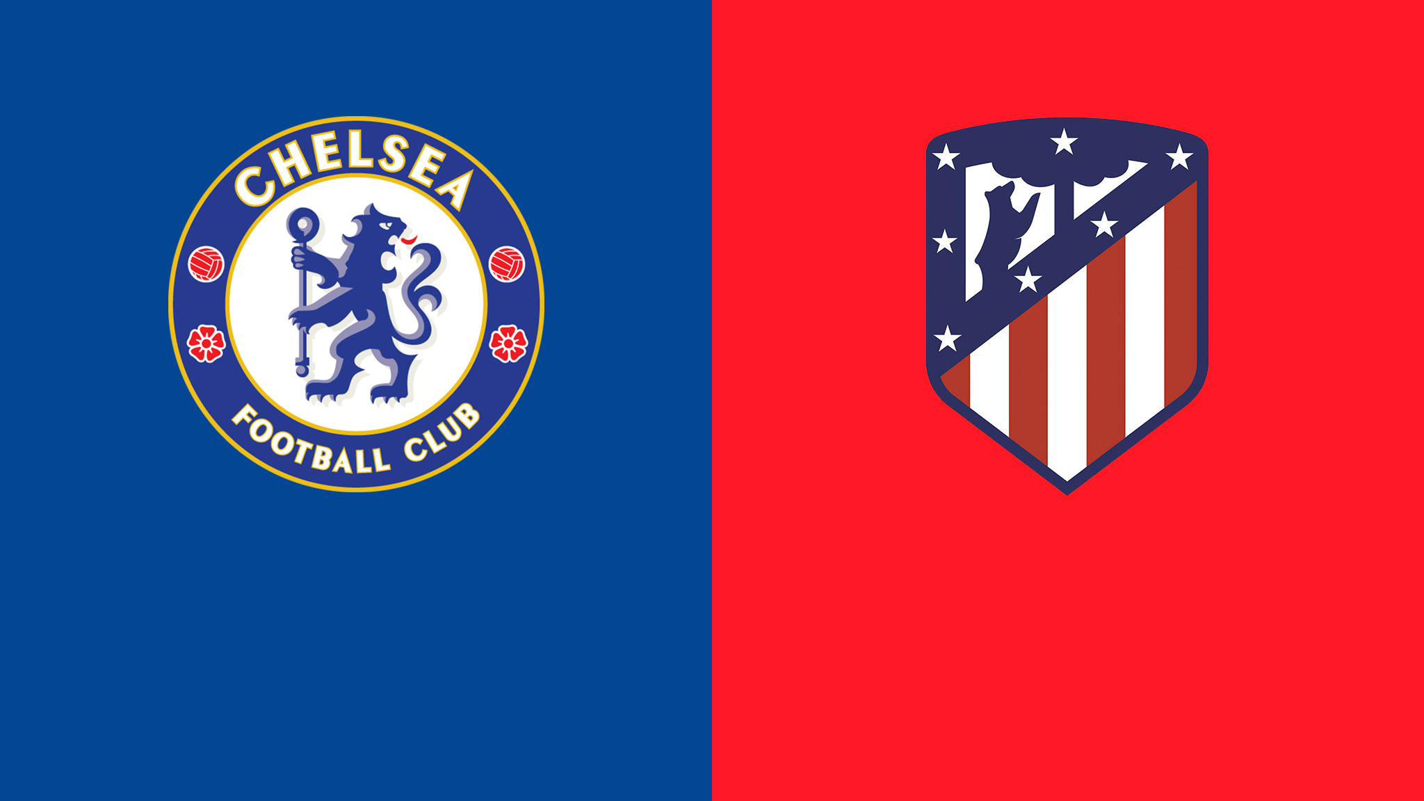 Watch the Atletico Madrid vs Chelsea match in the UEFA Champions League night shot