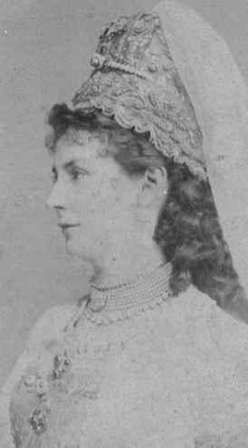 Herzogin Marie zu Mecklenburg [-Schwerin], geb. Prinzessin Windisch-Grätz