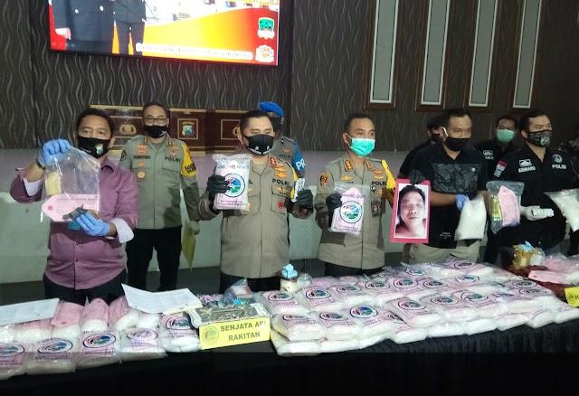 Berhasil Ungkap 100 Kg Sabu-Sabu Polrestabes Surabaya Dapat Apresiasi Kapolda Jatim