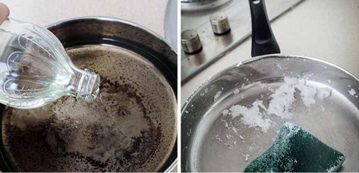 طريقة تنظيف طاسه القلي الألمونيوم