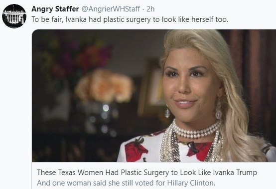 https://abcnews.go.com/Lifestyle/texas-women-plastic-surgery-ivanka-trump/story?id=43258425