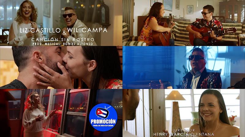 Liz Castillo & Wil Campa - Canción sin Rostro¨ - Videoclip - Dir: Henry García Quintana. Portal Del Vídeo Clip Cubano. Música popular cubana. Cuba.