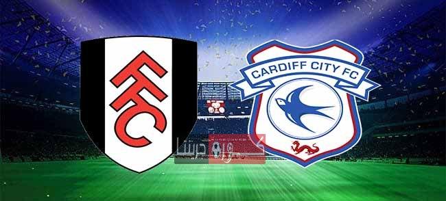 مشاهدة مباراة كارديف سيتي وفولهام بث مباشر اليوم 27-7-2020
