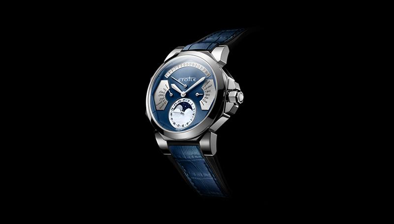 """دار الساعات"""" Montres Etoile"""" السويسرية تبتكر أول ساعة أوتوماتيكية في العالم بالتقويمين الهجري والميلادي"""