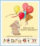 Mini SAL BB III - Happy Birthday