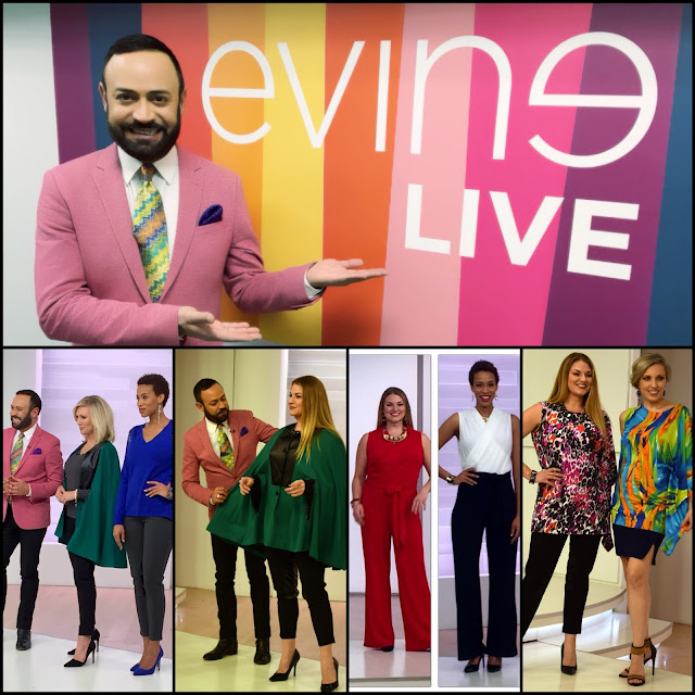 "NV Nick Verreos.....""NV Nick Verreos"" January Show on EVINE Live TV Shopping Network: Photo Recap!"