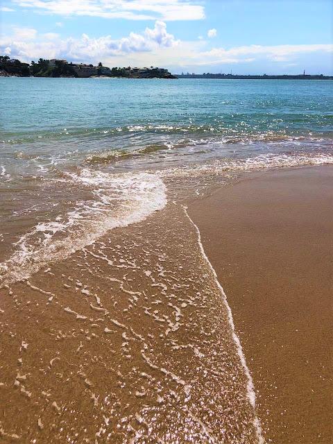 agua do mar transparente