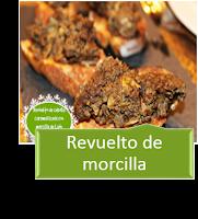 REVUELTO DE MORCILLA