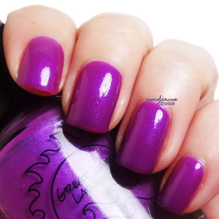 xoxoJen's swatch of Great Lakes Lacquer: Love at Loyola