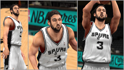 Marco Belinelli Real Face Patch