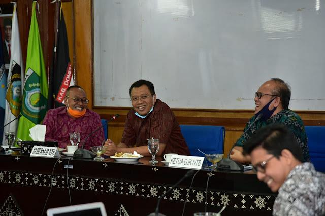 """Pemprov NTB Dukung """"Mawar Emas"""", Program dari OJK Lawan Rentenir Berbasis Masjid"""