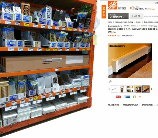 The Home Depot and Lowe's: Retailing Baseboard Heater Covers