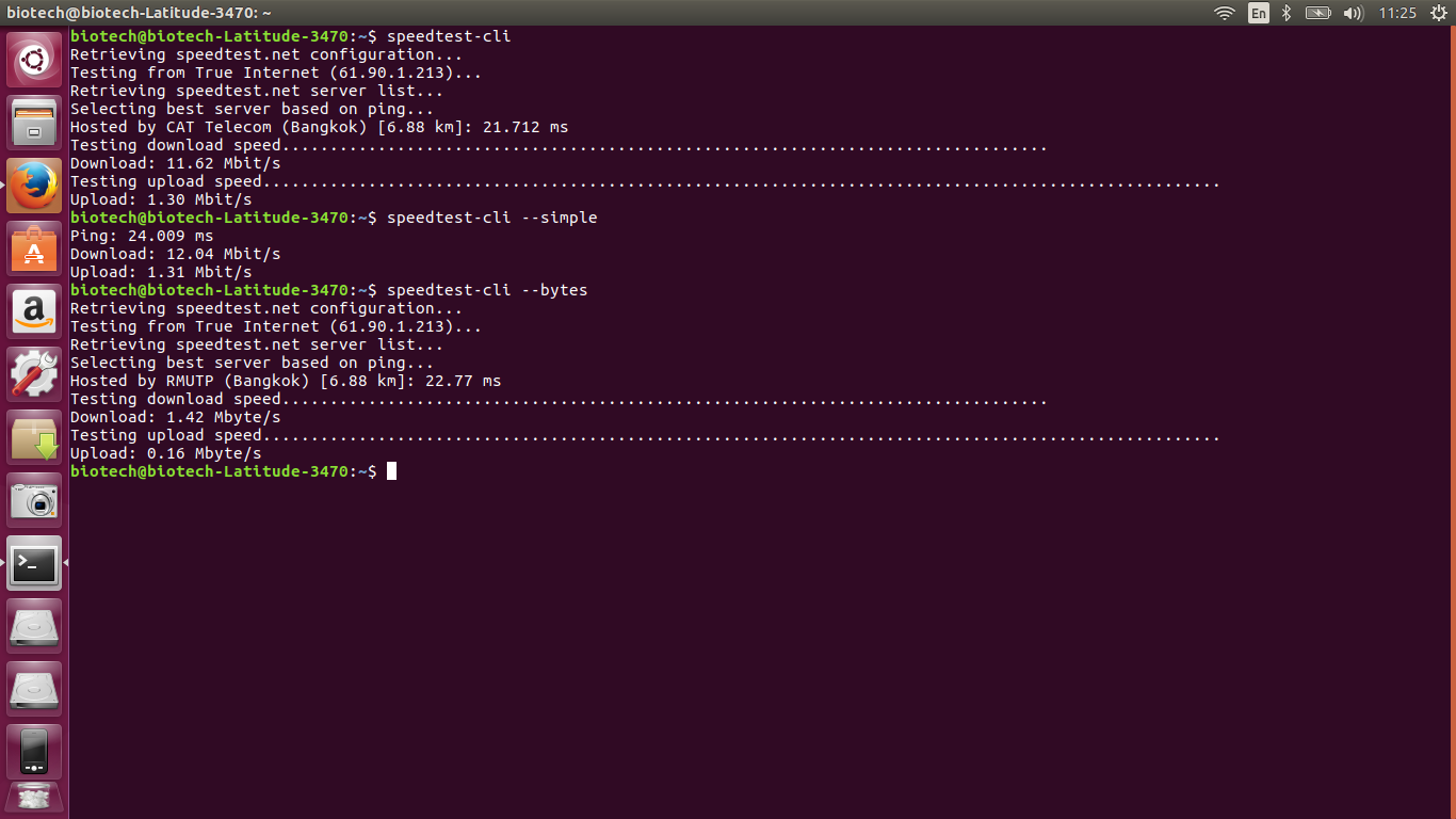 How to install program on Ubuntu: speedtest-cli: Command