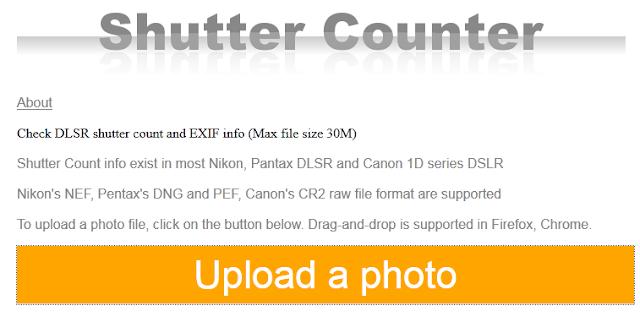 Cara Mudah Cek Shutter Count Kamera DSLR