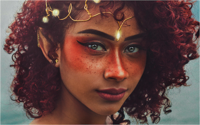 Elf girl of color - Vinicius Henrique on Unsplash