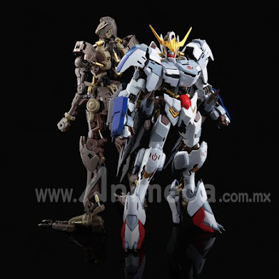 Gundam Barbatos 6th Form Hi-Resolution Model 1/100 Model Kit Edición Limitada Mobile Suit Gundam Iron-Blooded Orphans